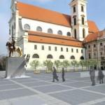 Jezdecká socha Jošt Lucemburský – Brno
