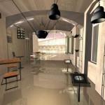 Interiér prodejny Etna iGuzzini - Praha 1