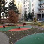 Dětské hřiště Záhřebská - Praha 2