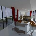 Interiér rezidence - Omice u Brna
